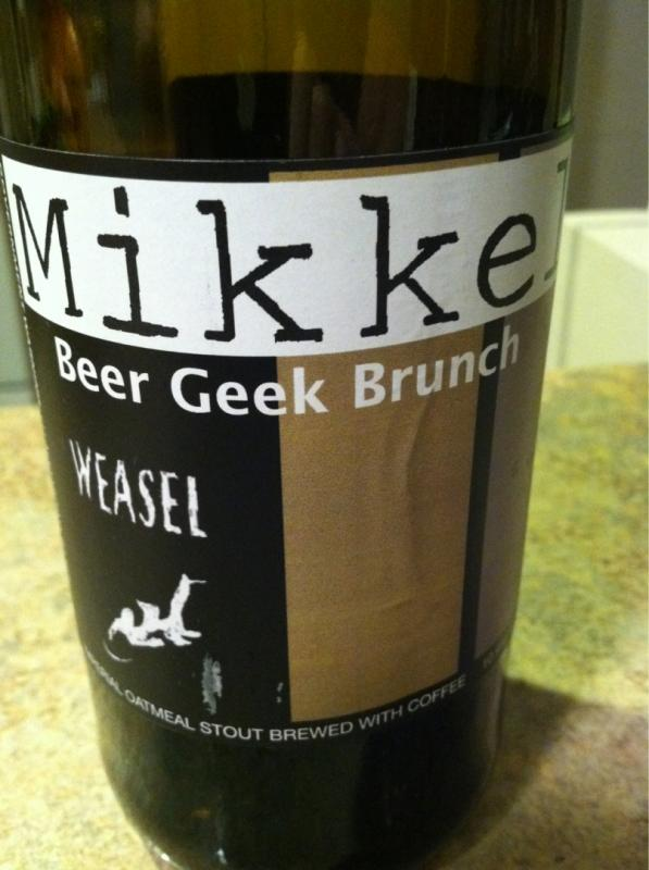 Beer Geek Brunch Weasel