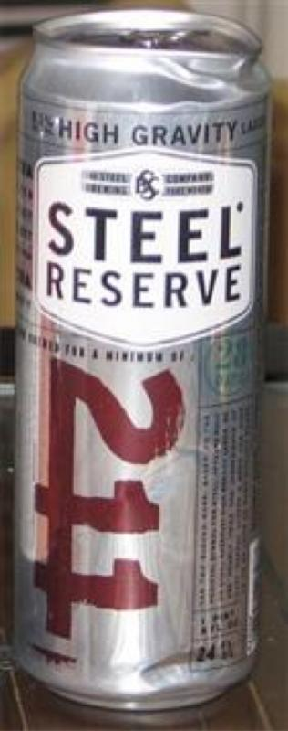 Steel Reserve 211 (High Gravity)