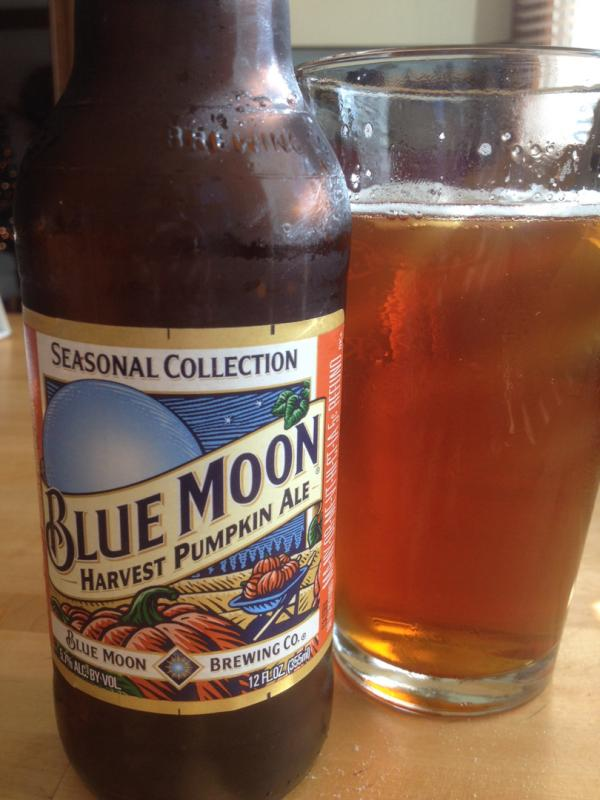 Blue Moon Harvest Moon Pumpkin Ale
