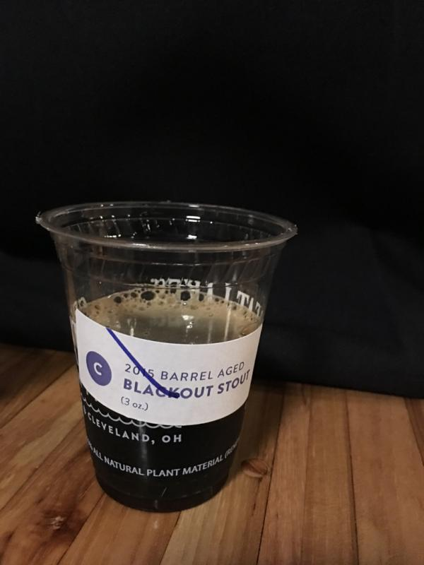 2015 Barrel Aged Blackout Stout