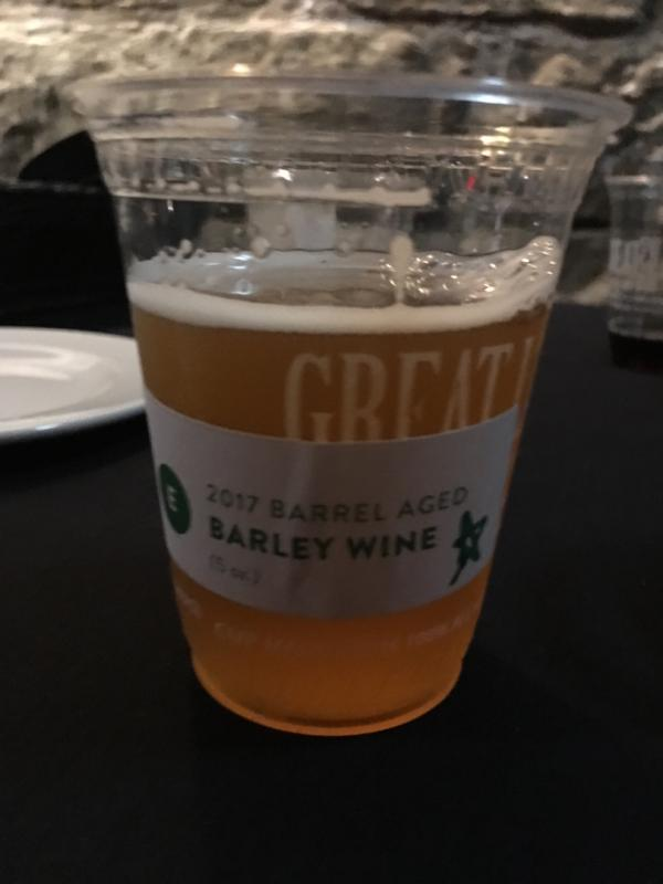 2017 Barrel Aged Barley Wine