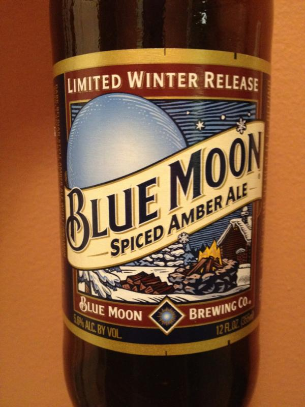 Blue Moon Spiced Amber Ale