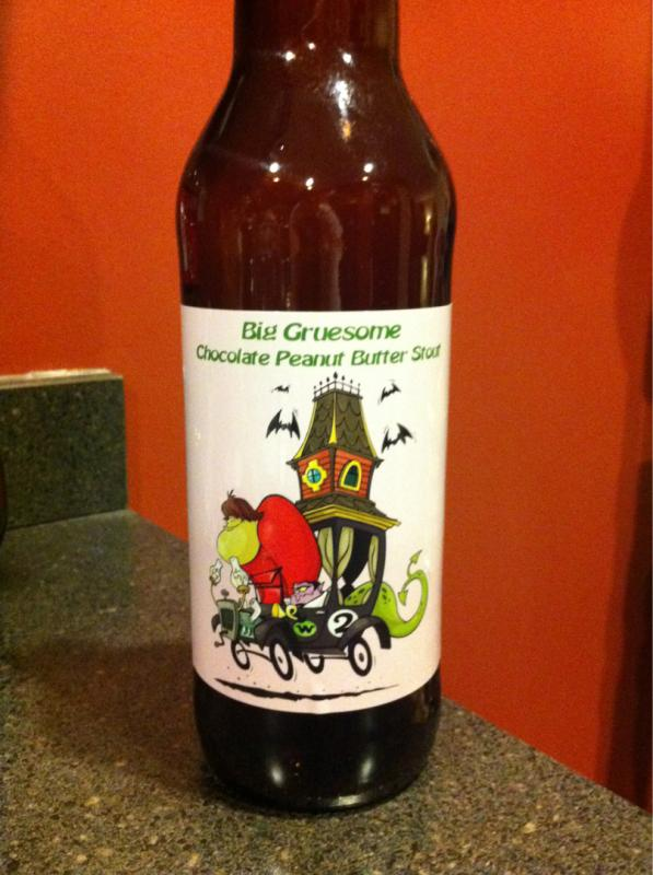 Big Gruesome - Peanut Butter Chocolate Stout