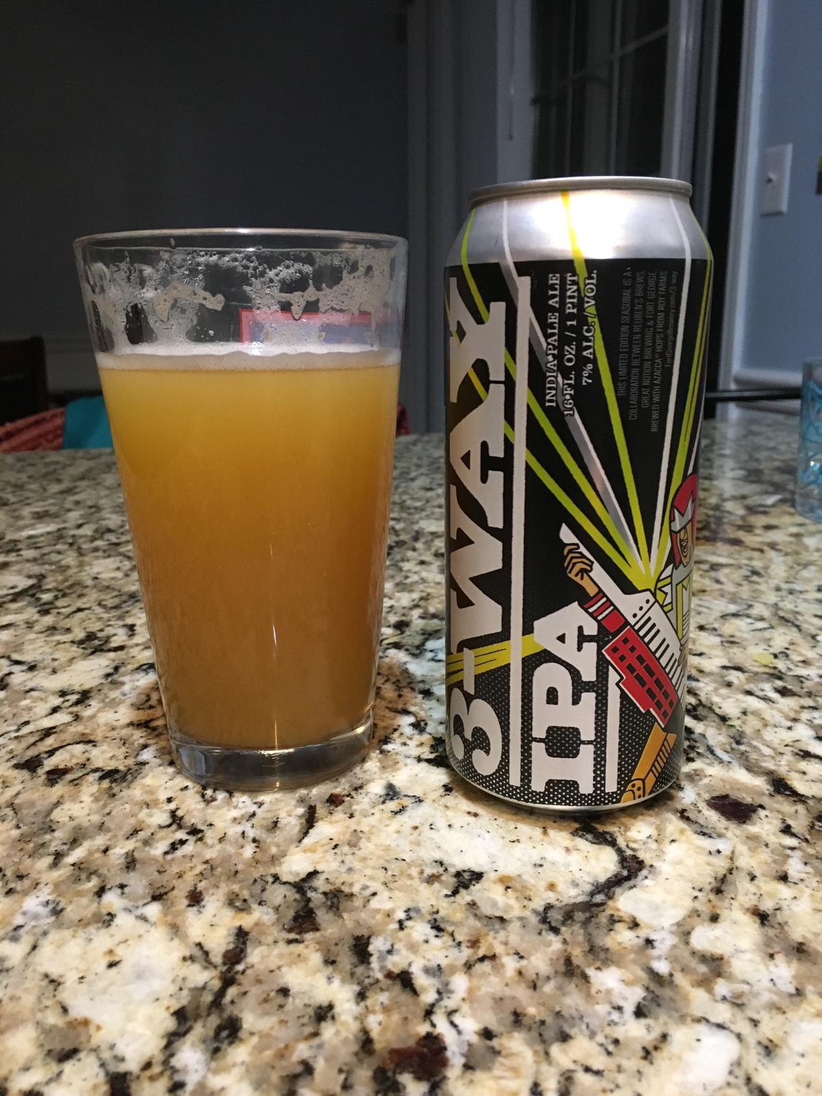 3-Way IPA - 2017 (Collaboration with Reuben