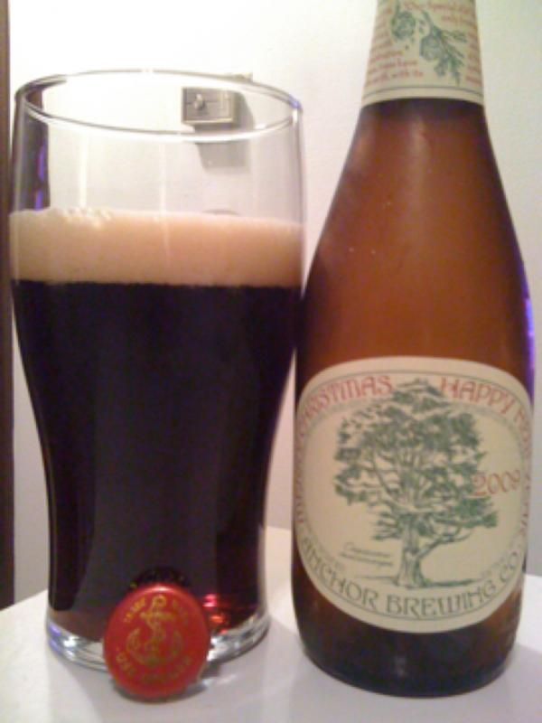 Anchor Christmas Ale 2009