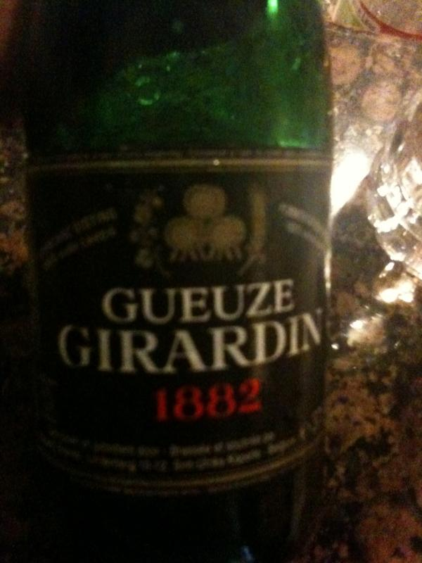 Girardin Gueuze 1882 Black Label (unfiltered)