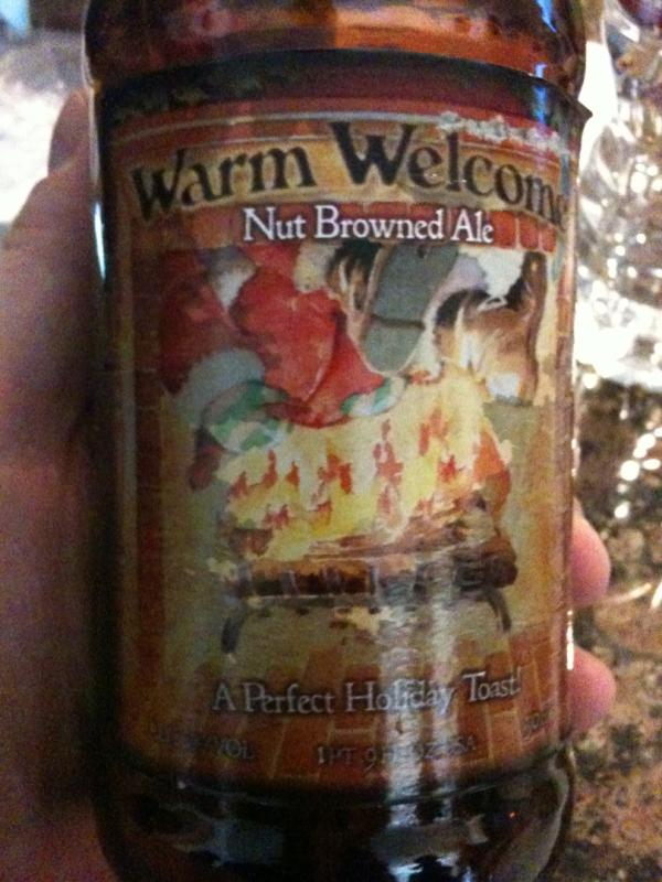 Warm Welcome Nut Browned Ale