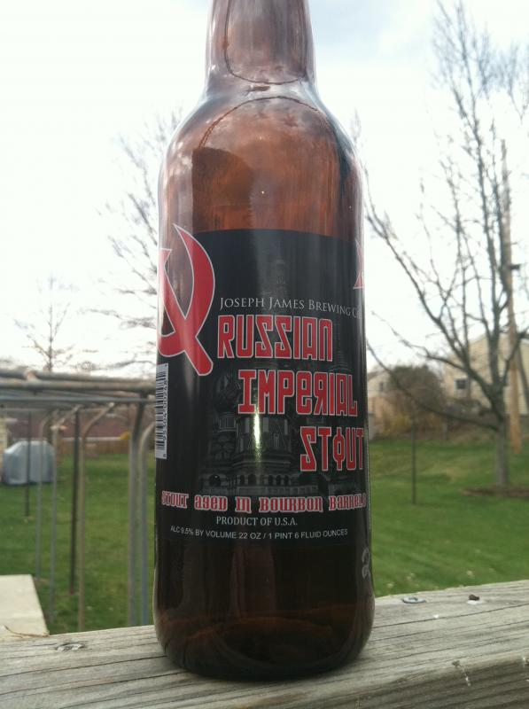 Bourbon Barrel Aged Russian Imperial Stout