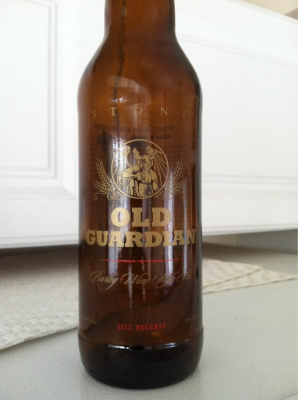 Old Guardian Barley Wine Style Ale Aged In Bourbon Barrels