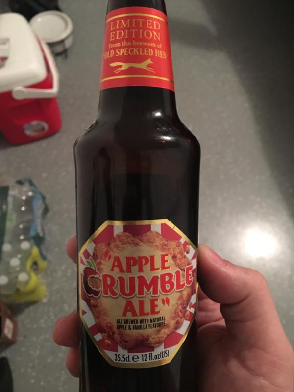 Apple Crumble Ale