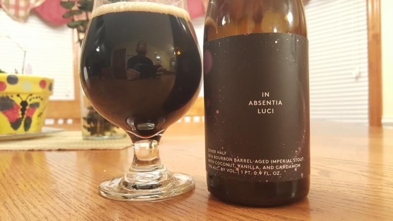 In Absentia Luci - 2016 Bourbon Barrel Aged with Coconut, Vanilla and Cardamom