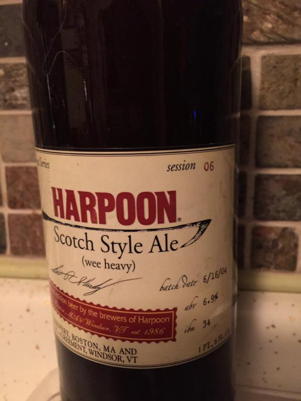 100 Barrel Series #6 - Scotch Style Ale (Wee Heavy)