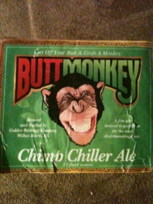 Buttmonkey Chimp Chiller Ale