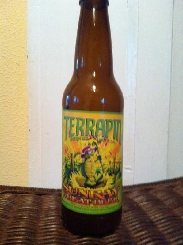 Terrapin SunRay Wheat Beer