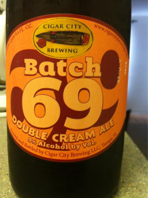 Batch #69 Double Cream Ale