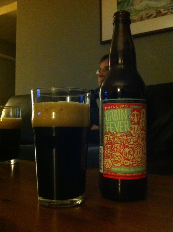 Cabin Fever Imperial Black IPA