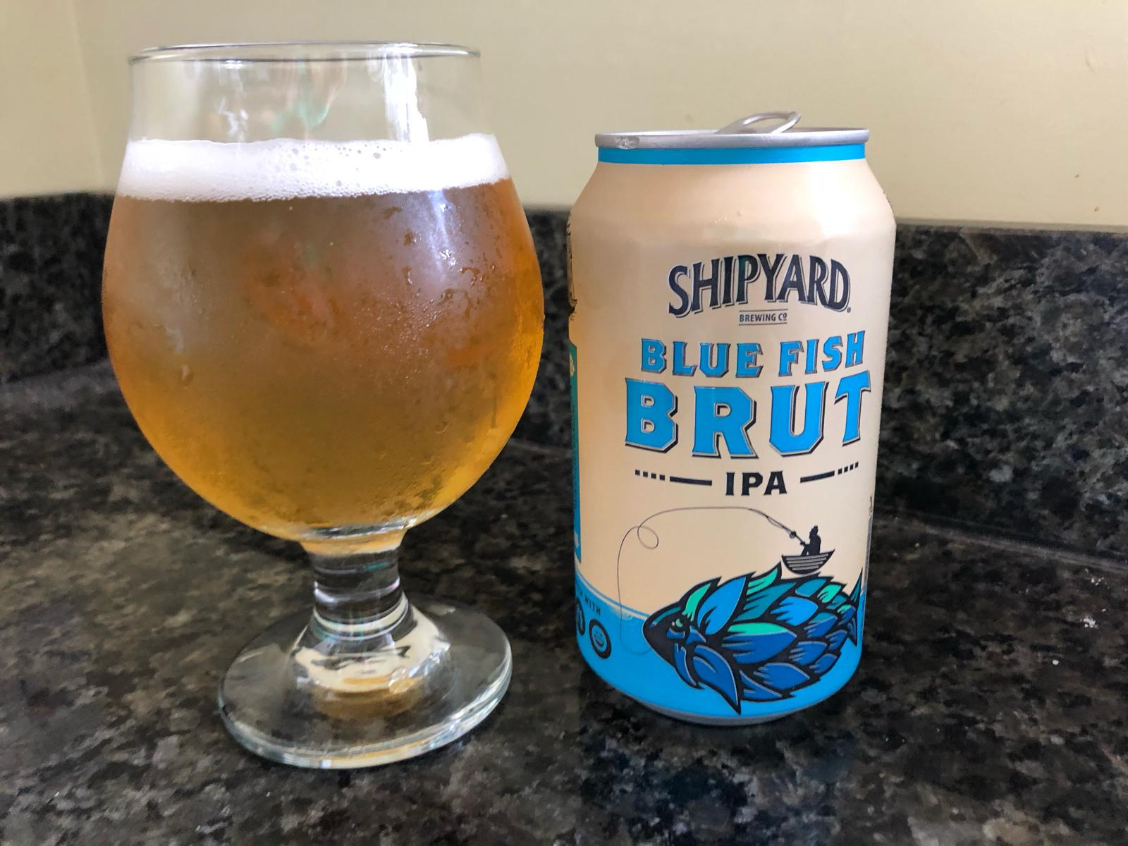 Blue Fish Brut IPA