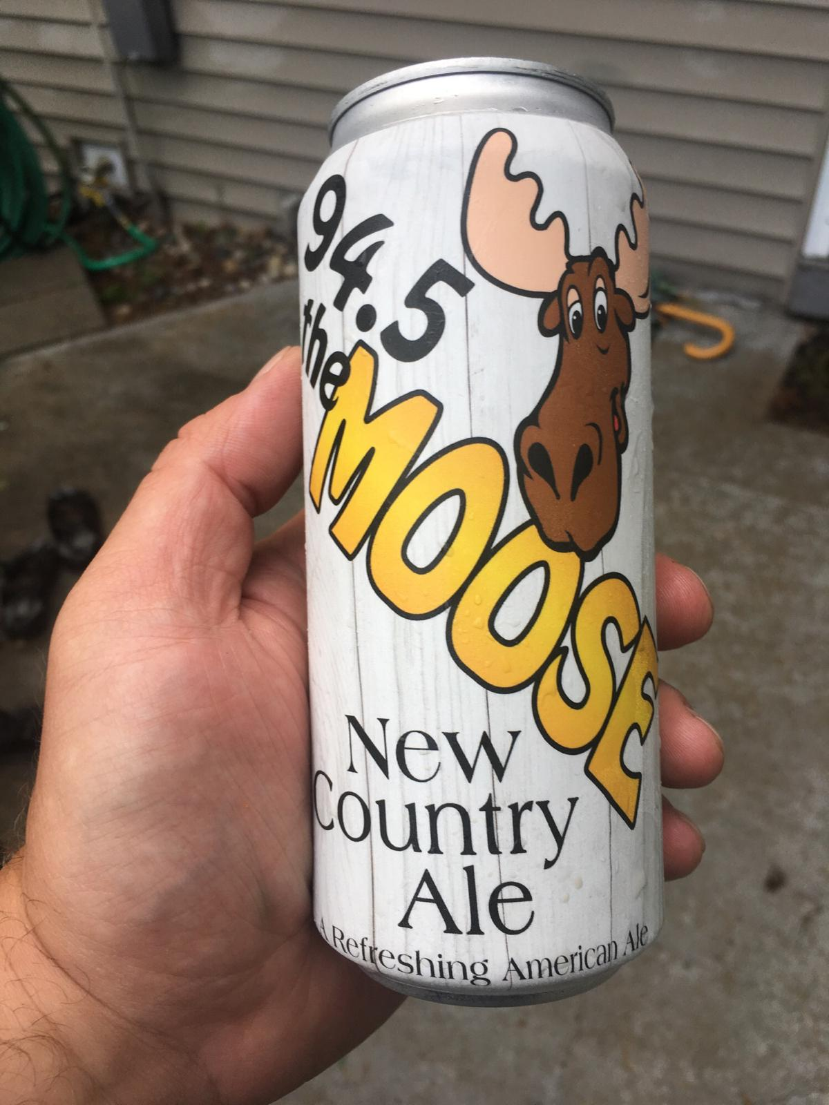 94.5 The Moose New Country Ale