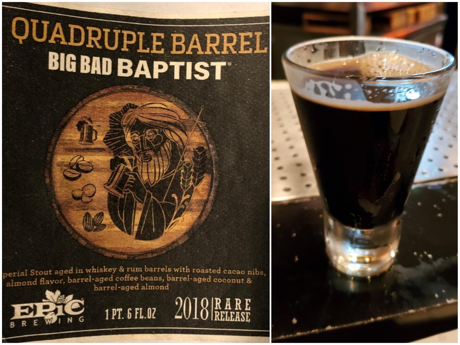 Big Bad Baptist (Quadruple Barrel)
