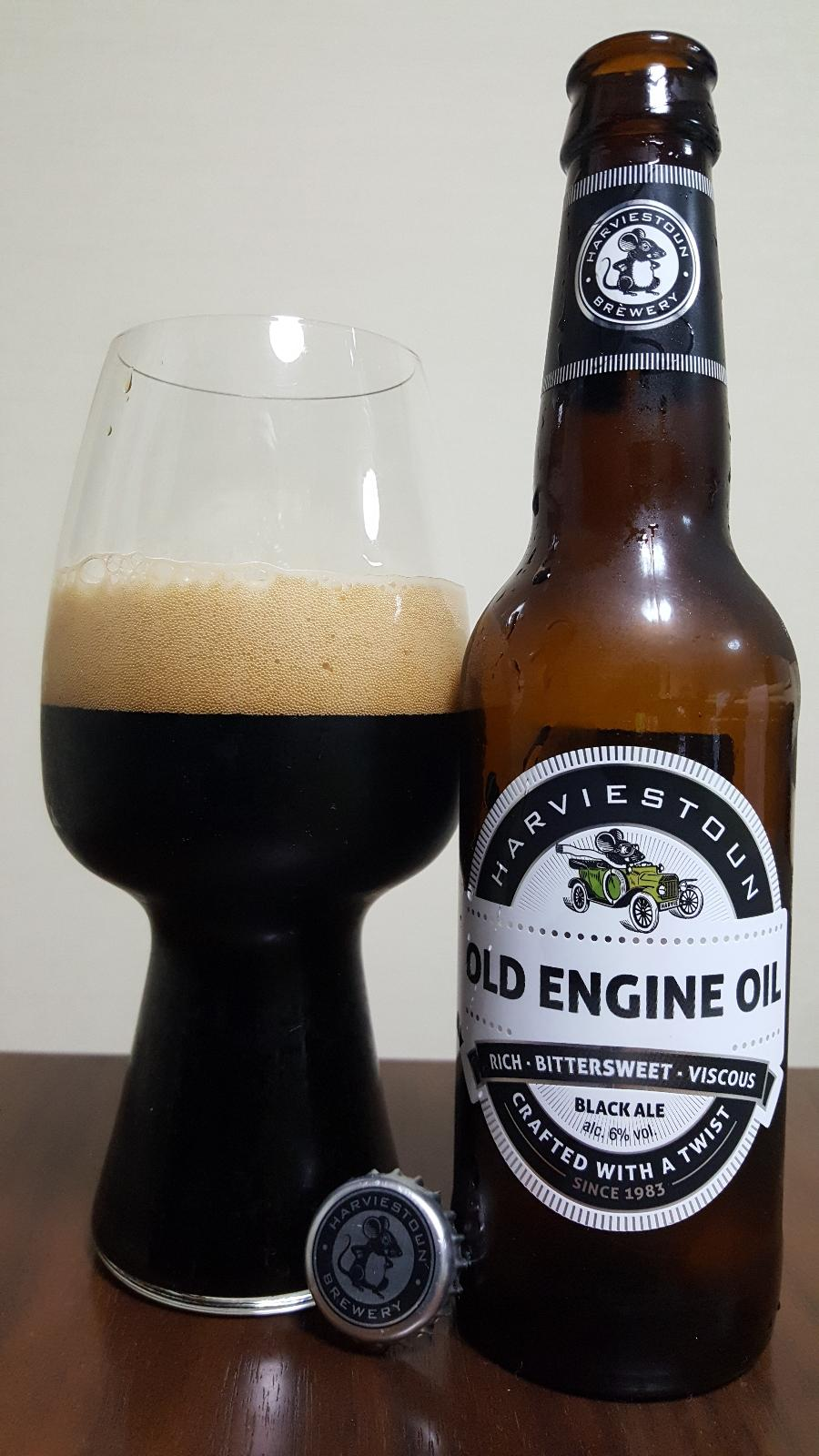 Old Engine Oil