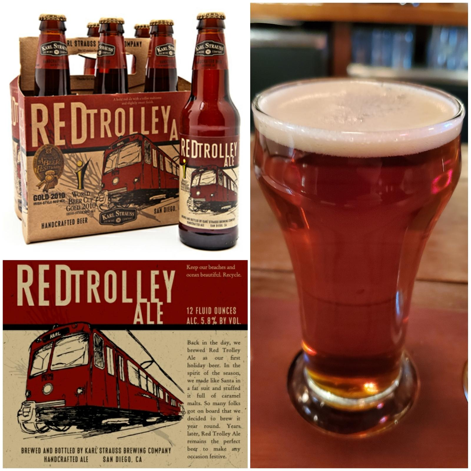 Red Trolley Ale