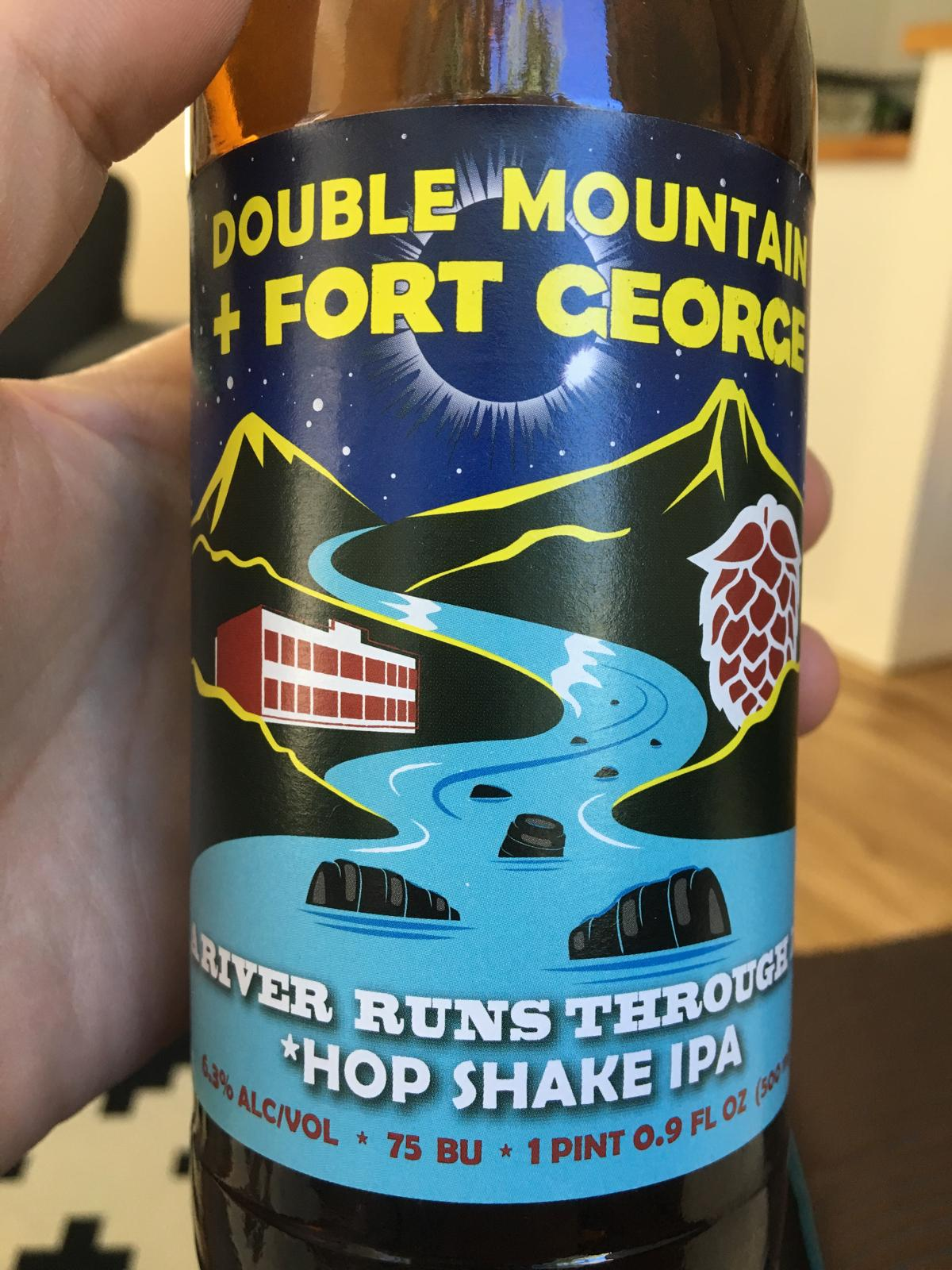 A RIver Runs Through It Hop Shake IPA (Collaboration With Fort George)
