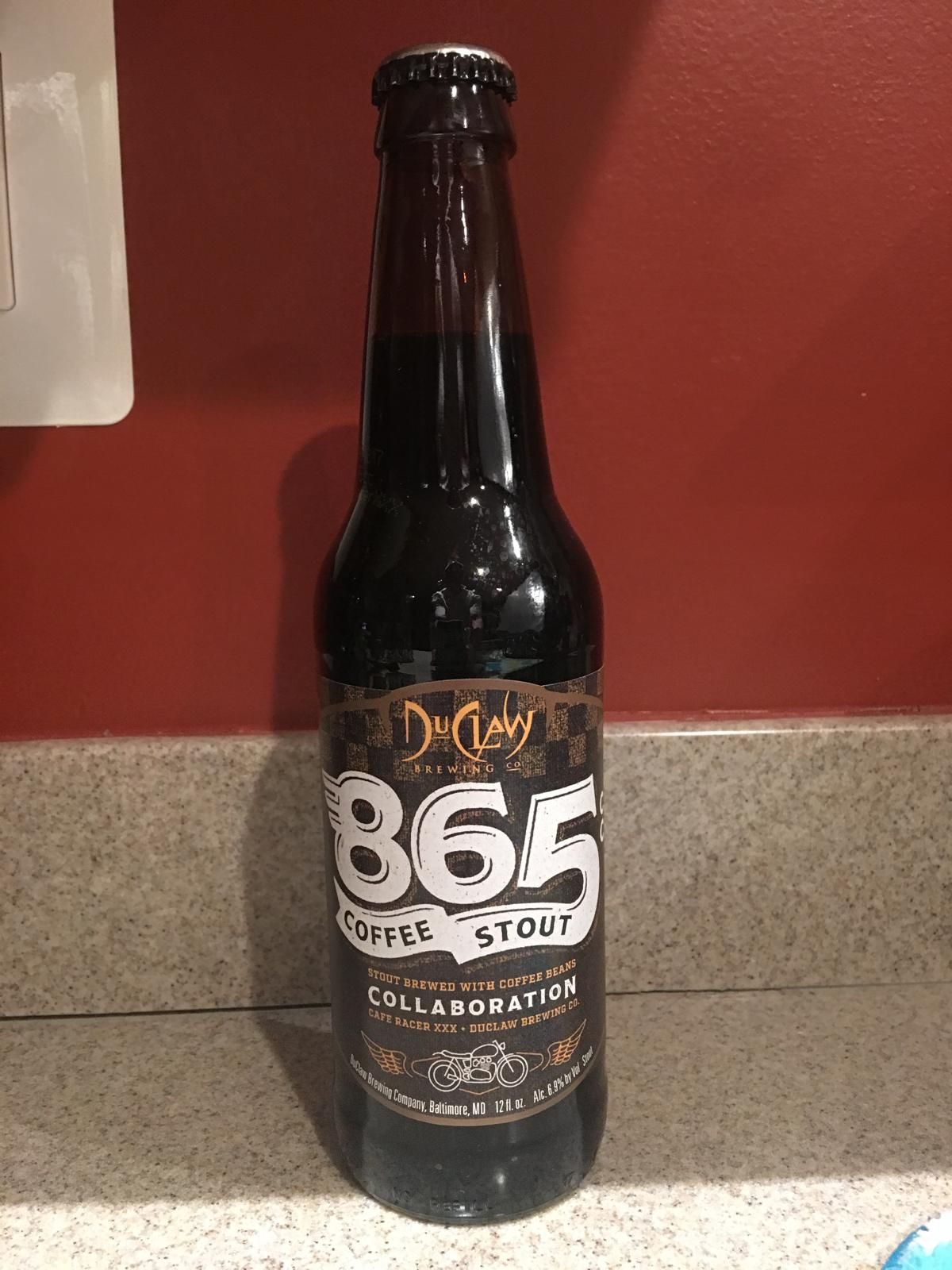 865 Coffee Stout (colaboration with Cafe Racer XXX)
