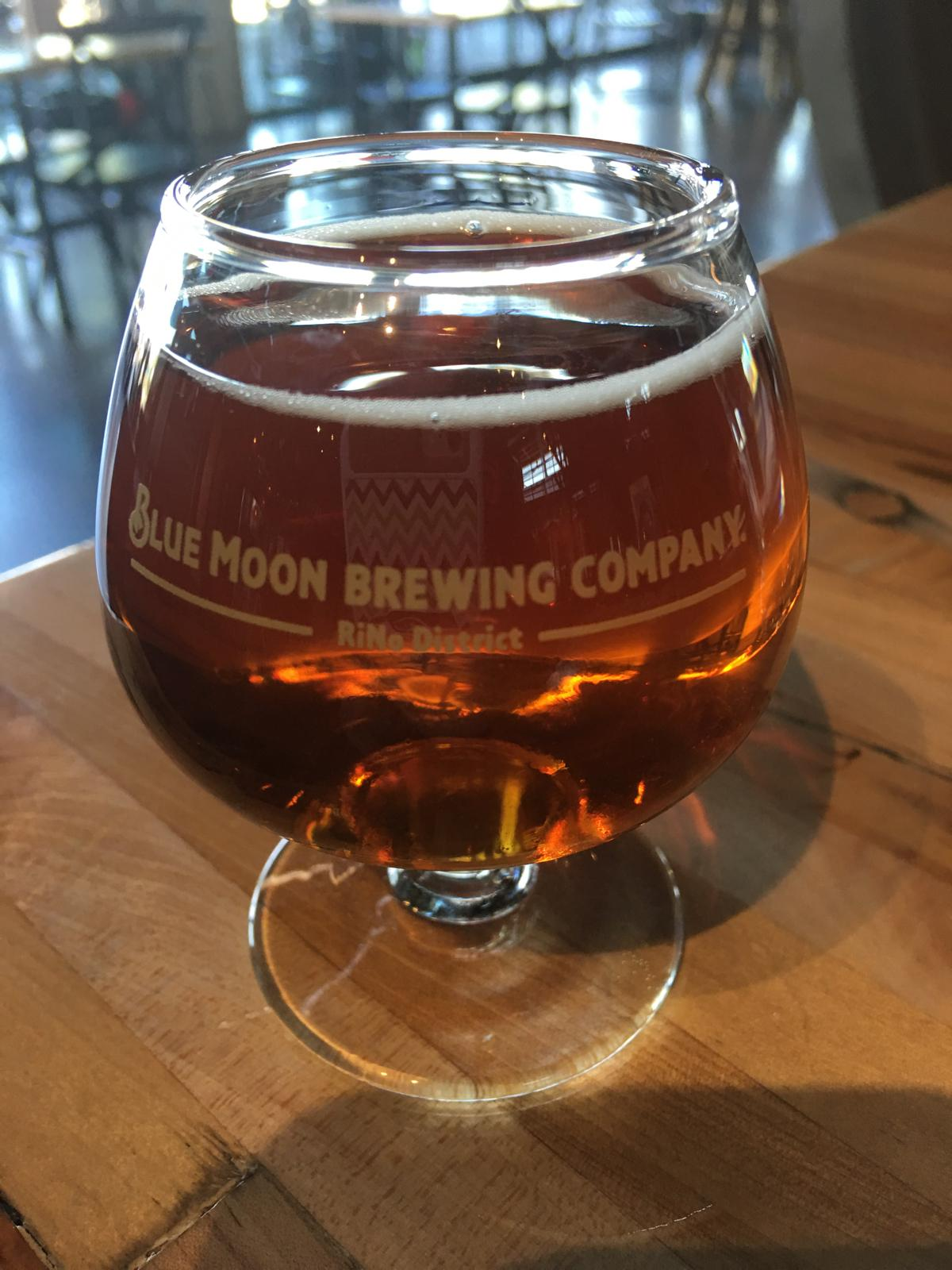 Blue Moon Barrel Aged Rum Maple Pumpkin