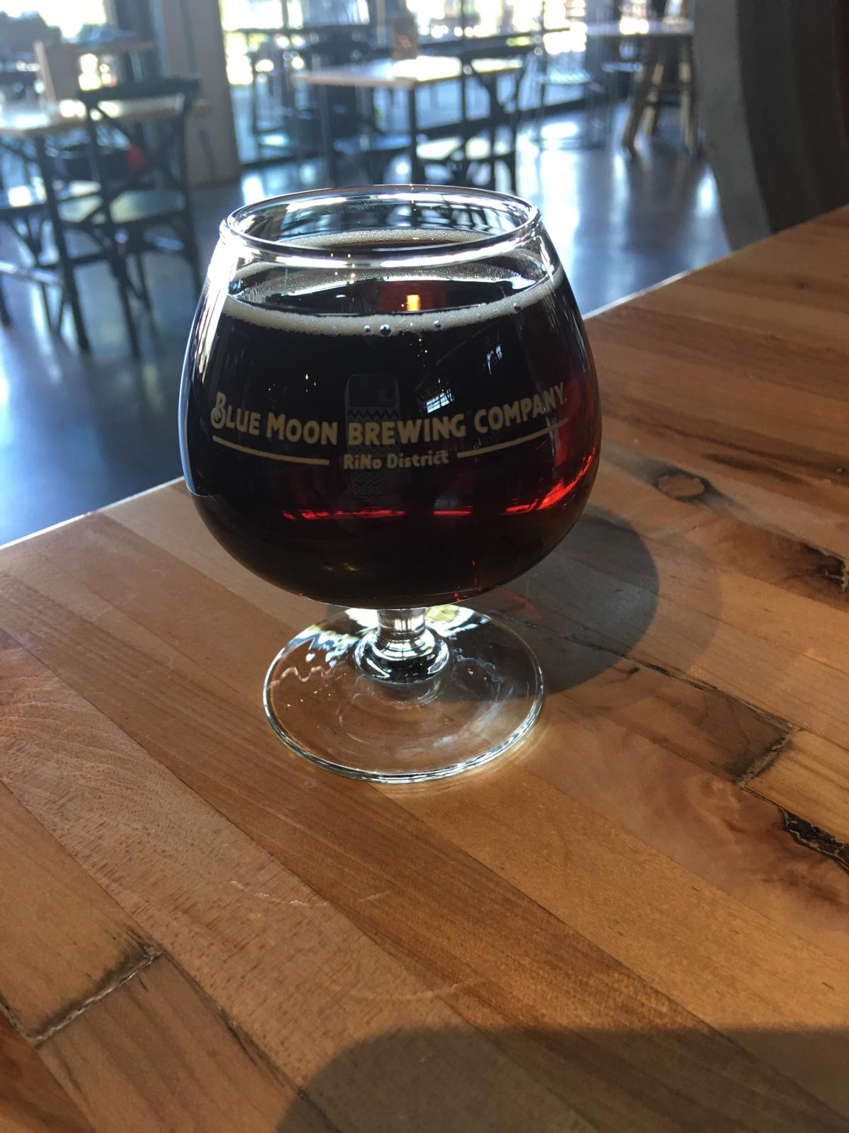 Blue Moon Barrel Aged Bourbon Breakfast Brown Ale