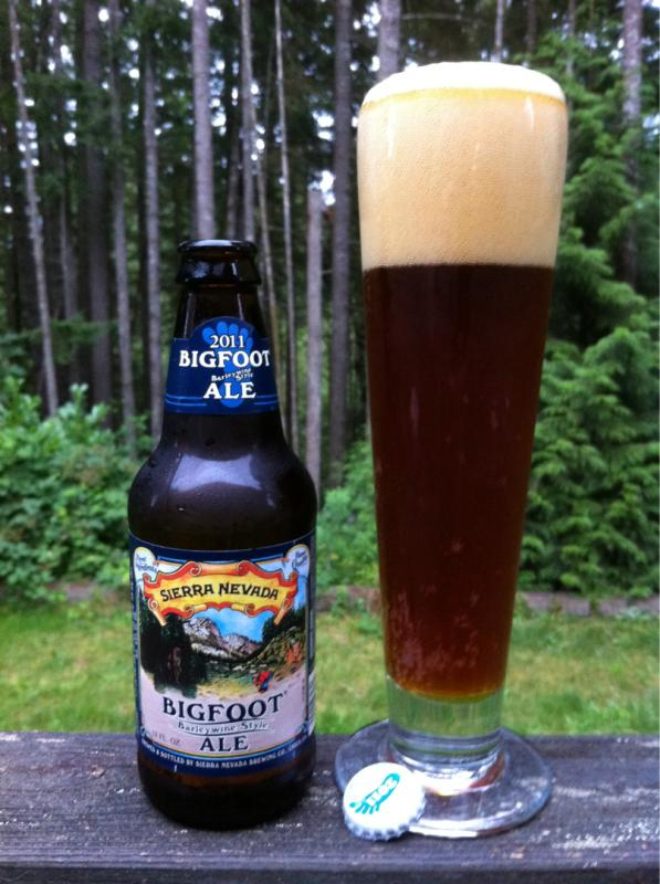 Bigfoot Barleywine Style Ale (Whiskey Barrel)