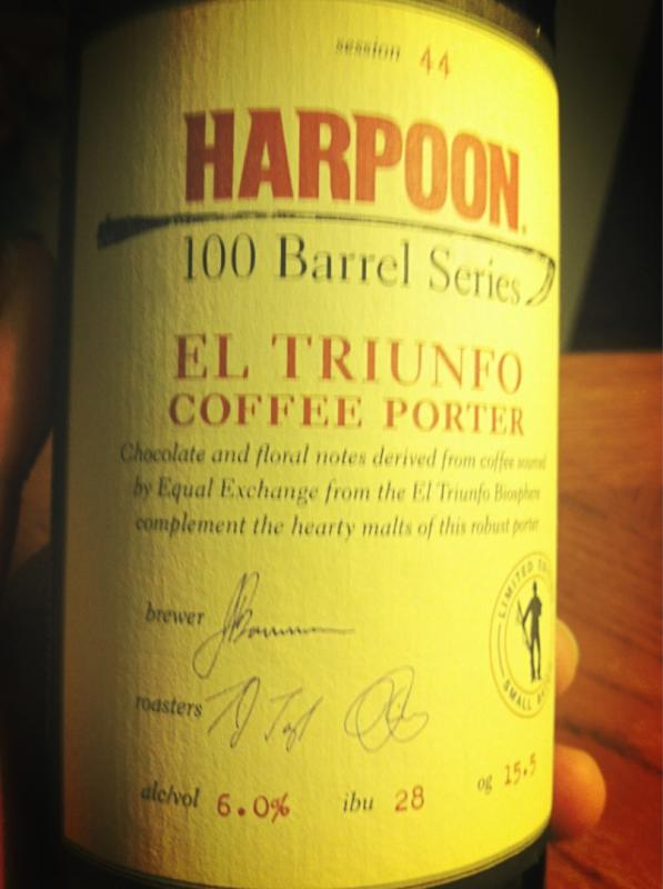100 Barrel Series #44 - El Triunfo Coffee Porter