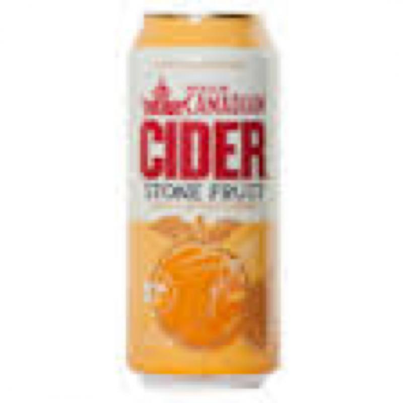 Molson Canadian Cider Stone Fruit
