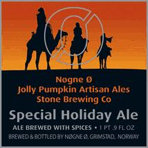 Special Holiday Ale - Jolly Pumpkin / Nøgne-Ø / Stone