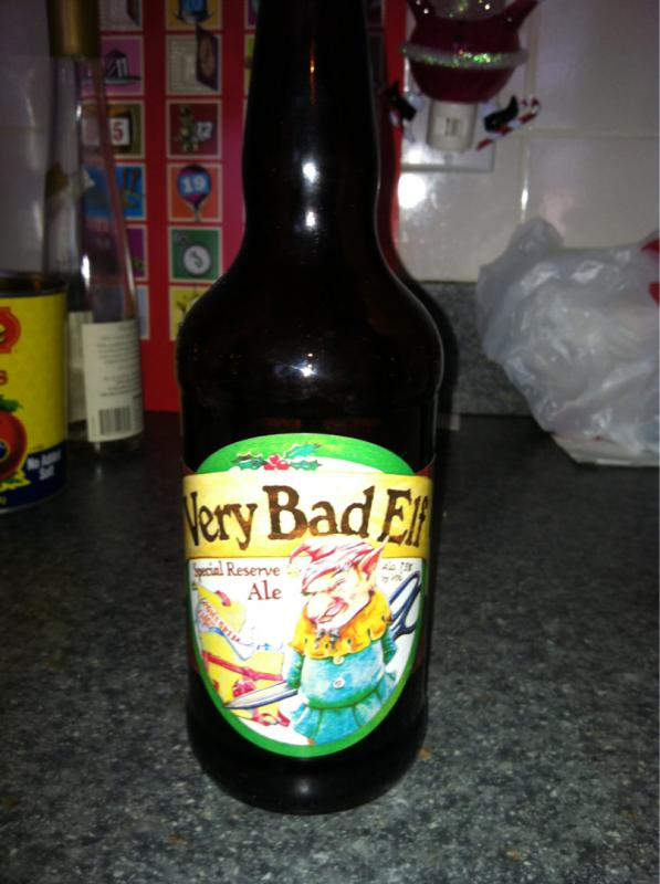 Very Bad Elf Special Reserve Ale