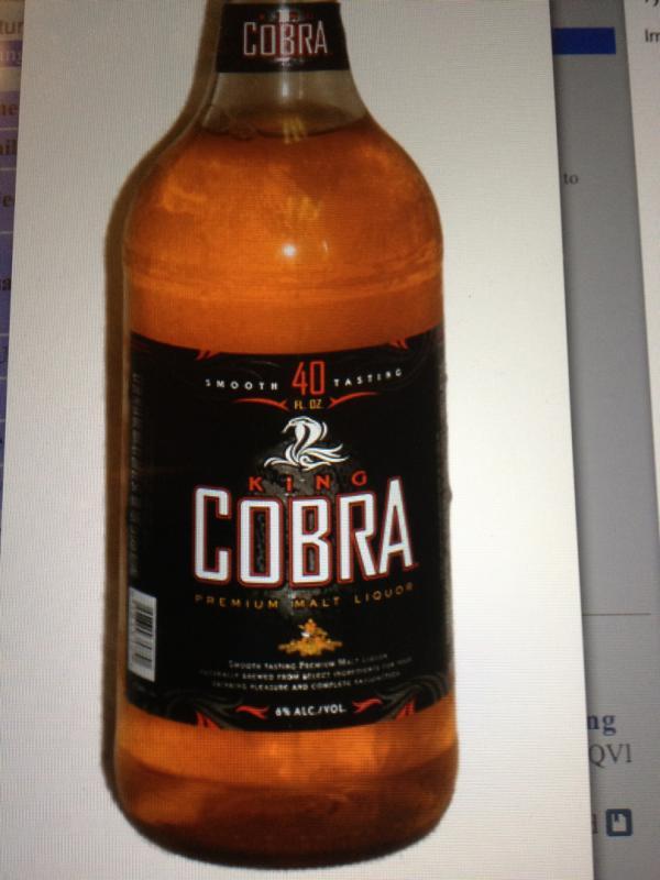 King Cobra Premium Malt Liquor Remember meHome Top 100 BeersBrewGene Gear